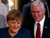 ميركل تجتمع مع نائب الرئيس الأمريكى على هامش مؤتمر ميونيخ للأمن