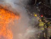 3 أشخاص يحرقون غرف بموقع برج إرسال تابع لإحدى شركات الاتصالات بأسيوط