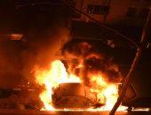 ماس كهربائي سبب حريق بسيارة ملاكي داخل نفق الأزهر.. ولا إصابات