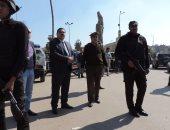 حملة أمنية مكبرة بشوارع المنصورة لملاحقة الخارجين عن القانون