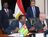 توقيع مذكرتى تفاهم بين مصر وتوجو فى مجال الطيران المدنى