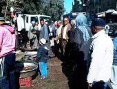 اعدام طن أسماك مملحة وتحرير 9 محاضر شهادات صحية فى حملات بالدقهلية