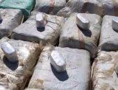 ضبط أكبر شحنة مخدرات تضم 5 أطنان حشيش جلبتها عصابة دولية بالقاهرة الجديدة