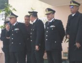 بالصور.. مدير المرور يحضر طابور المجندين ويشدد على حسن معاملة المواطنين