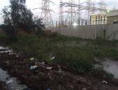 بالفيديو والصور ..محطة محولات المحلة ومنشية مبارك تغرق بمياه الصرف وتنذر بكارثة