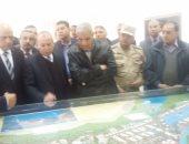 محلب يصل دمياط لتفقد مشروع مدينة دمياط للأثاث على مساحة 331 فدانا