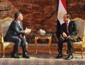 بدء مباحثات السيسي وعاهل الأردن لمناقشة القضايا العربية