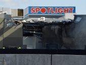 سقوط طائرة صغيرة على مركز تسوق قرب مطار إسندون بأستراليا