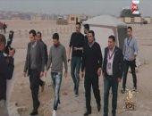 """عمرو أديب يعرض صورة جديدة لزيارة """"ميسى"""" للأهرامات"""