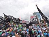 بالصور.. احتجاجات عارمة لمسلمى إندونيسيا لإقالة حاكم جاكرتا