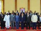 بالصور.. السيسي يرحب باستضافة مصر لمؤتمر المحاكم الدستورية الأفارقة سنويا
