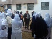 بالصور.. إضراب تمريض مستشفى الإسماعيلية بسبب الاعتداء على زميلتهن