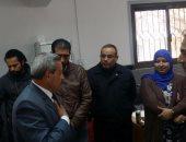 سكرتير عام محافظة دمياط يتفقد المركز التكنولوجى للخدمات الجماهيرية بفارسكور