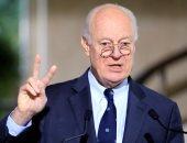 دى ميستورا: روسيا طلبت من الحكومة السورية رسميا وقف القصف الجوى