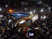 بالفيديو والصور.. تشييع جثمان عمر عبد الرحمن بمسقط رأسه فى الدقهلية