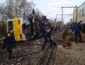 إصابة 25 شخصا جراء خروج قطار ركاب عن مساره شمال الهند