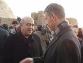 بالصور.. يحيى راشد: توافد آلاف السياح على معبد أبوسمبل اليوم يؤكد عودة السياحة بقوة