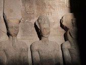 س وج.. كل ما تريد معرفته عن قدس الأقداس بمتحف أبو سمبل؟