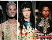 """بالصور.. اتعرف على أكثر 4 عارضين أزياء """"هزوا"""" المنصات بعرض """"Gucci"""""""