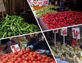 نرصد أسعار الخضراوات والفاكهة فى سوق 6 أكتوبر