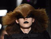 """بالصور..شاهد أجمل تصفيفات شعر العارضات فى عرض أزياء دار """"Gucci"""""""