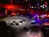 إصابة ضابط شرطة عقب سقوطه من كوبرى مشاة أعلى الدائرى