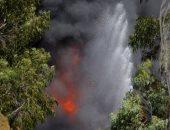 بالصور.. حريق فى مصنع بمدينة سيدنى والحماية المدنية فى استراليا تكافح النيران