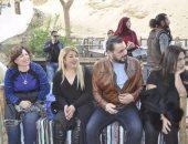جولة نيلية لضيوف مهرجان أسوان.. وإلهام شاهين: هى دى مصر