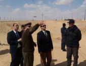 """مساعد وزير الداخلية يتفقد نقطة شرطة """"بلابيش"""" سوهاج"""