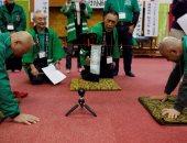 صلعاء فى اليابان يحتفون بصلعاتهم