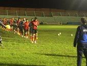 مهاجم لوهافر الفرنسى يشارك فى مران منتخب الشباب بزامبيا