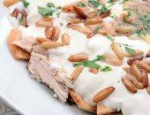طريقة عمل فتة الدجاج بالطحينة