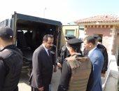 مدير أمن الإسكندرية يتفقد كمين أبيس وقسم كرموز والسجن المركزى