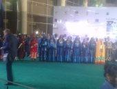 بالصور.. فرقة المنوفية للفنون الشعبية فى مهرجان أفلام المرأة
