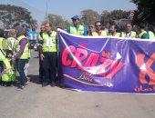 """بالفيديو والصور.. انطلاق رالى الدراجات بسوهاج لدعم مبادرة """"لا للإدمان"""""""