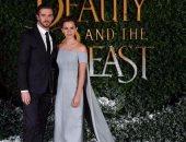 بالصور.. إيما واتسون بإطلالة ساحرة فى عرض Beauty and the Beast بلندن