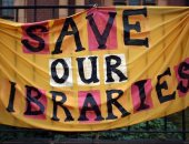 """25 مليون كتاب """"وهمى"""" بالمكتبات العامة فى بريطانيا"""