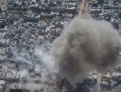 """بالصور.. تفجير انتحارى وسط تجمع للجيش التركى قبل انسحاب """"داعش"""" من الباب"""