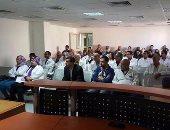 مستشفى شرم السيخ تنظم ندوة توعوية لهيئة التمريض والعاملين