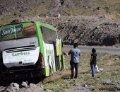 مصرع أكثر من 13 سائحا صينيا فى حادث حافلة فى لاوس