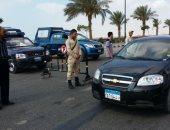مقتل إرهابى فى مطاردة بالأسلحة النارية مع الشرطة بطريق الواحات بالجيزة