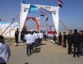 بالصور.. وصول وزير الكهرباء محطة الضبعة لافتتاح الحوار المجتمعى