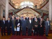 وفد صينى رفيع المستوى فى زيارة لجامعة عين شمس لبحث سبل التعاون المشترك