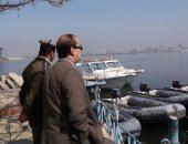 بالصور.. مساعد وزير الداخلية لوسط الصعيد يشدد على ملاحقة المراكب المتهالكة