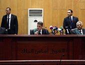 """بالصور.. تأجيل أولى جلسات محاكمة مرسى وقيادات الإخوان بـ""""اقتحام السجون"""" لـ 29مارس"""