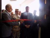 بالصور.. محافظ جنوب سيناء يفتتح مركز عمليات إدارة الكوارث بشرم الشيخ