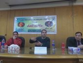 الدسوقى رشدى: أطالب الشباب بالتمسك بأحلامهم وتحديد هدفهم بدءا من الجامعة