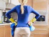 """6 نصائح للحفاظ على نظافة أرفف مطبخك.. """"تجنبى المنظفات القاسية والرطوبة"""""""