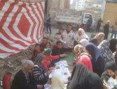 تنظيم قافلة خدمية شاملة بحى المنتزة شرق الإسكندرية
