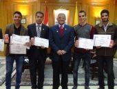 جامعة المنيا تكرم طلاب الأبحاث المتميزة بالمؤتمر العلمي لشباب الباحثين